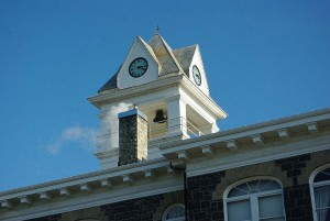 Columbia County Courthouse Cupola in St. Helens Old Town